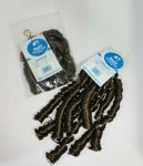 Curly Piece Braiding Hair (pack of 2) in Colour 6 Mousey Brown